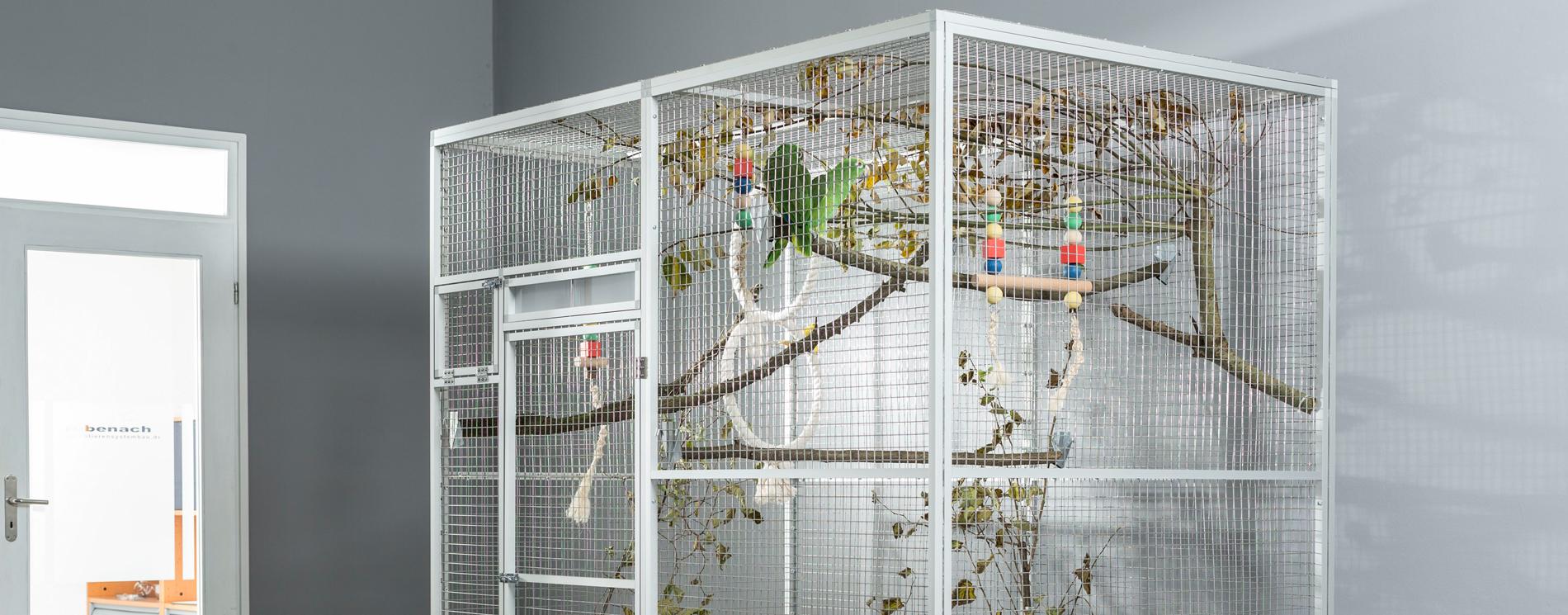 Papageien Voliere Selber Bauen